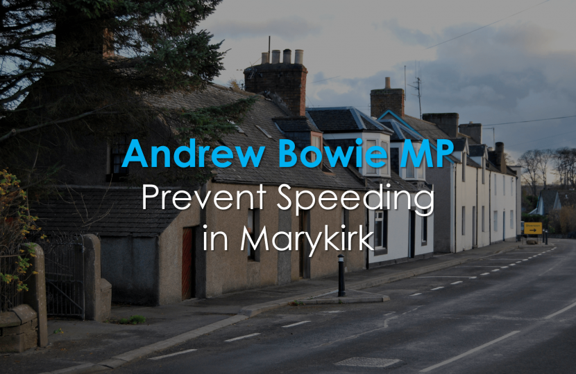 Andrew Bowie Speeding Marykirk