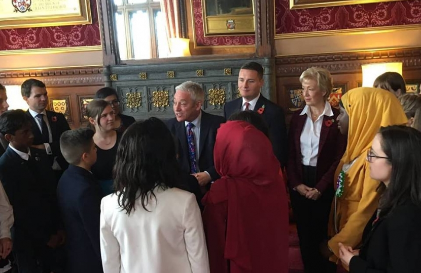 Andrew Meets Youth Parliament Members