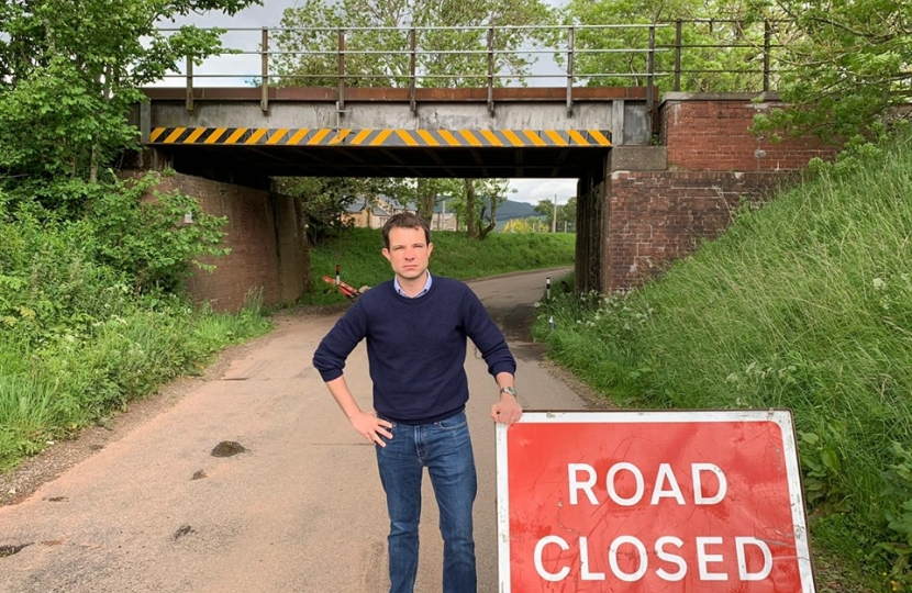 Andrew Asks For Funding to Repair and Replace Bridges