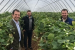 Visit to Castleton Farm and Shop with Guy Opperman